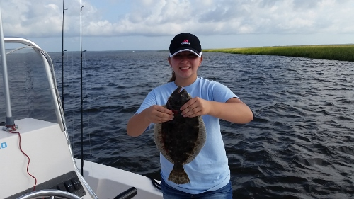 Let The Public See Flounders Are Biting